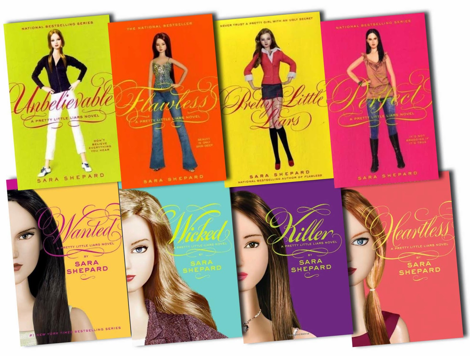 Image result for pretty little liars book 1-4