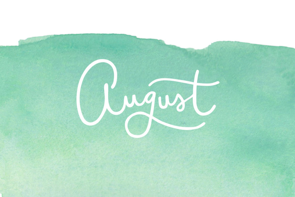 Upcoming Releases: August2019