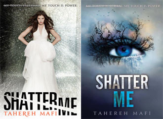 Image result for shatter me cover redesign