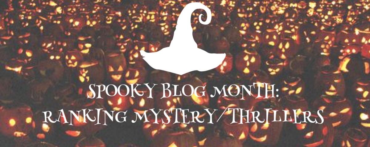 Ranking Mystery/Thriller Book's I'veRead