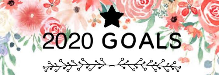 2020 Reading/Blog Goals